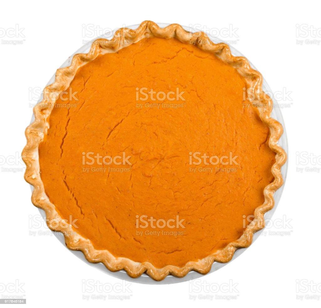 Pumpkin pie. – Foto