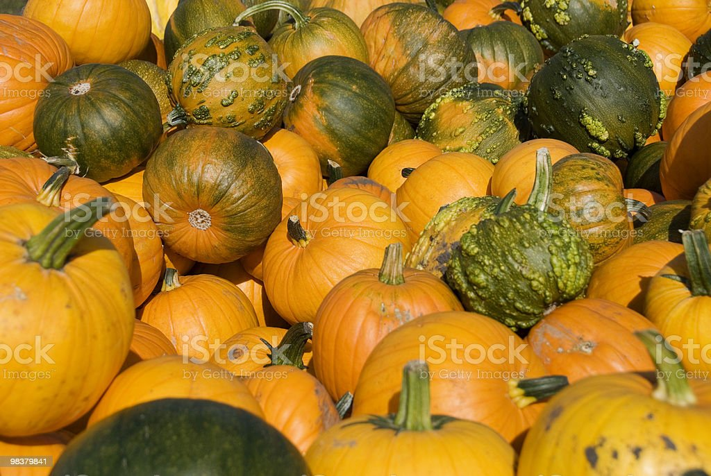Zucca Pile foto stock royalty-free