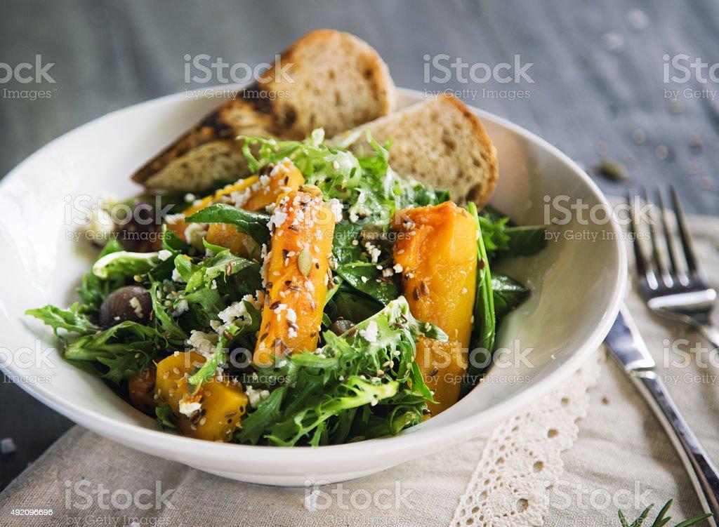 Kürbis-Salat – Foto
