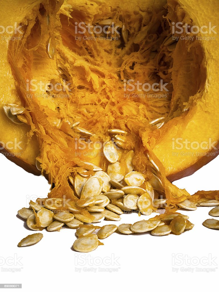 Pumpkin Seeds - Isolated royalty-free stock photo