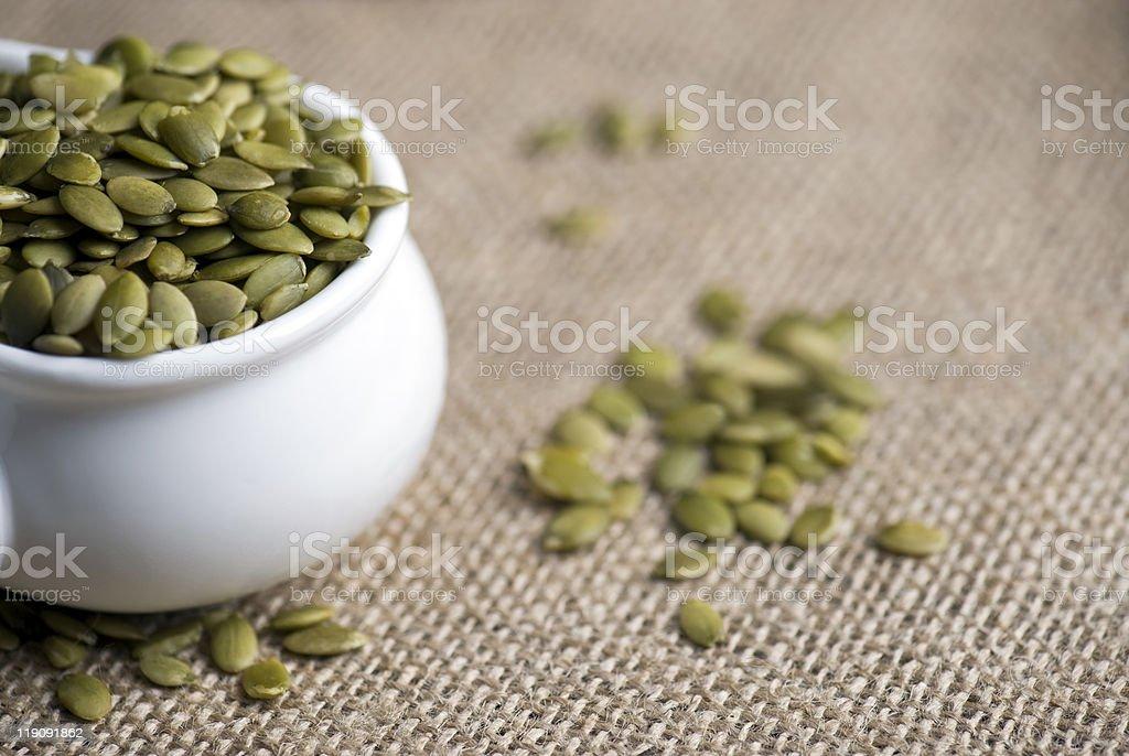 Pumpkin Seeds (Pepita) stock photo