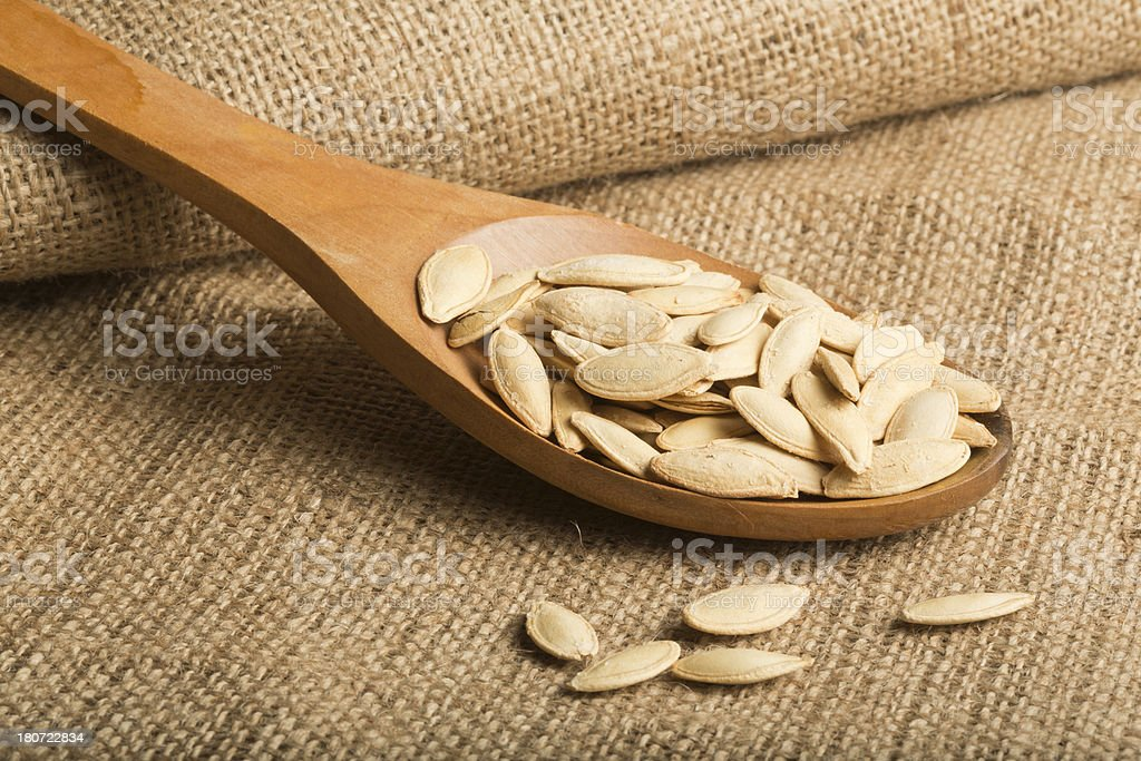 Pumpkin Seeds royalty-free stock photo