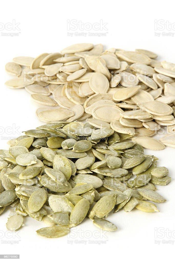 Pumpkin seeds. royalty-free stock photo