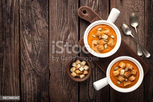 istock pumpkin soup 592366042