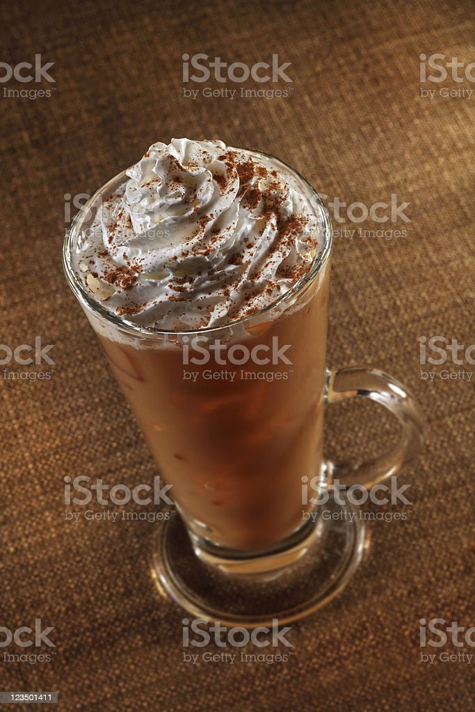 Pumpkin Spice Latte royalty-free stock photo