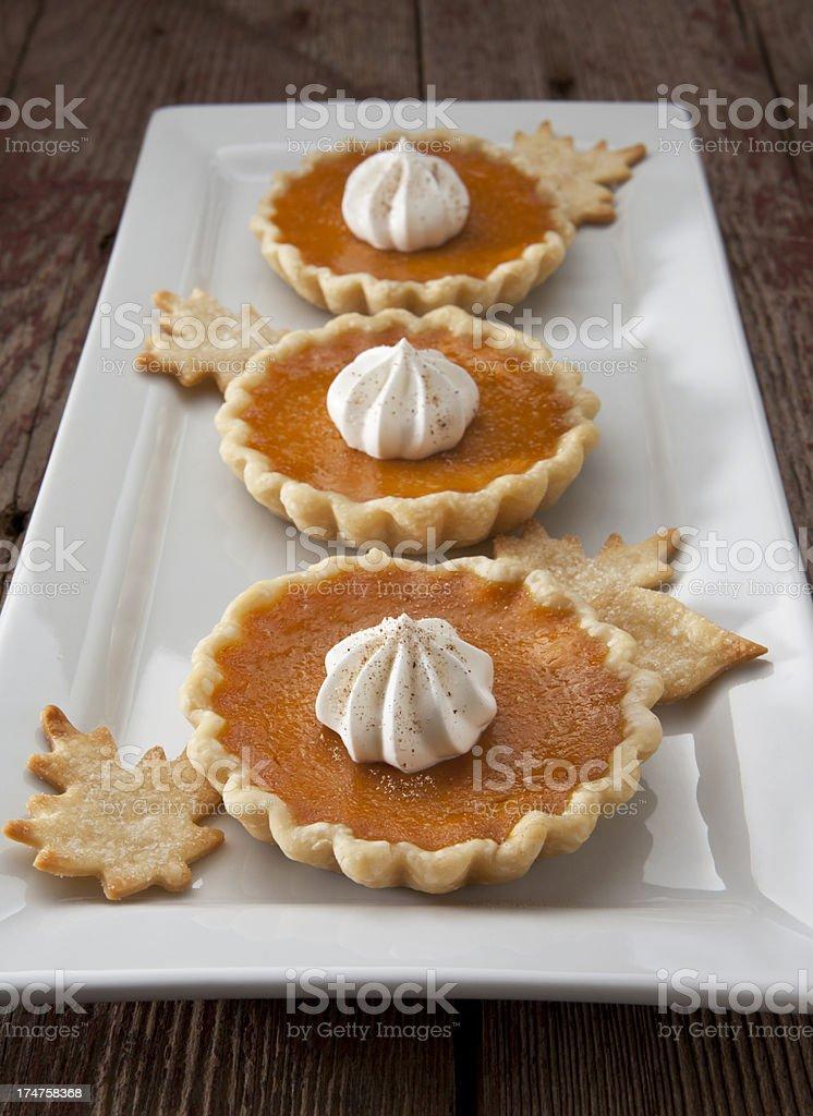 Pumpkin Tarts royalty-free stock photo