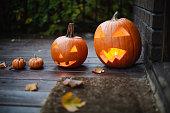 halloween, pumpkin, decoration, orange color,