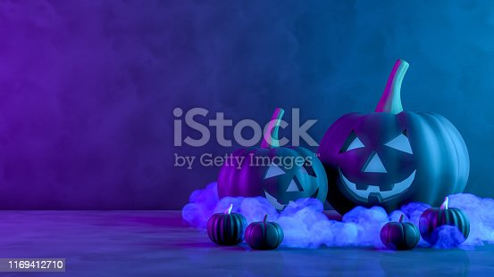 Halloween, Pumpkin, Jack O' Lantern, Smiley Face, Illuminated
