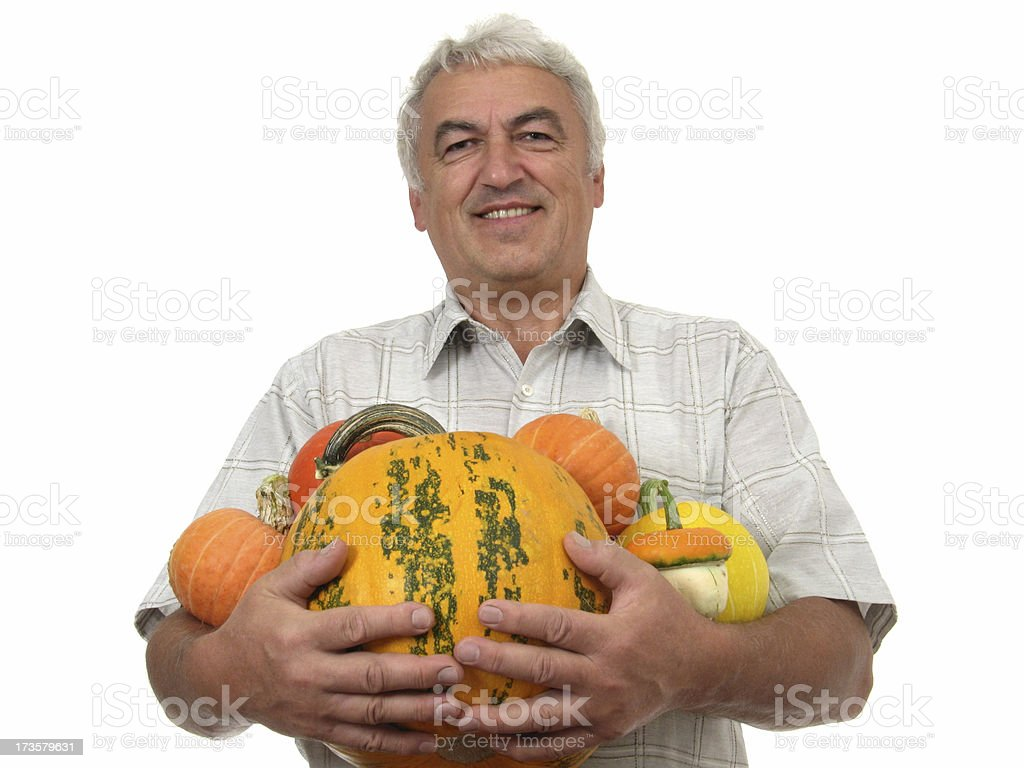Pumpkins for you royalty-free stock photo