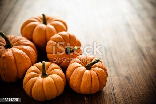 Baby pumpkins.