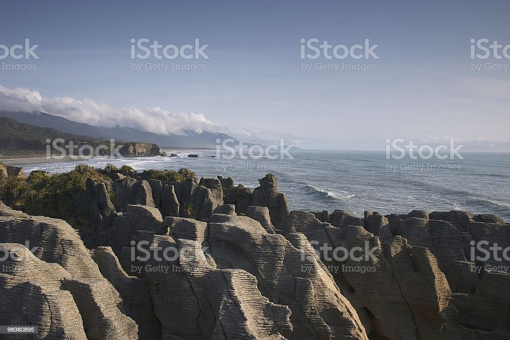 Punakaiki royalty-free stock photo