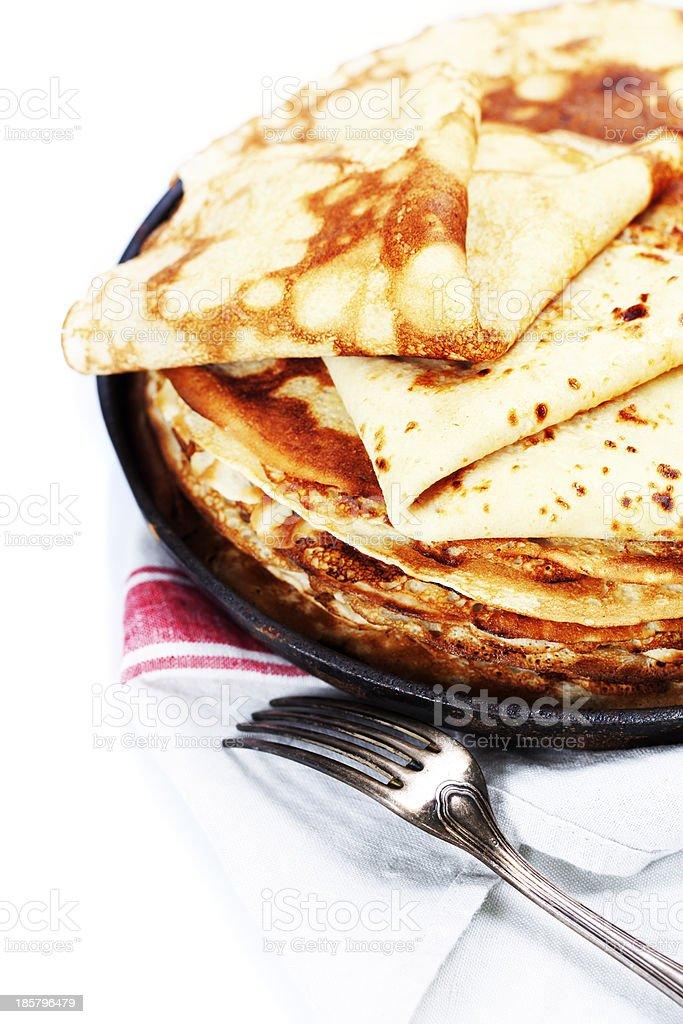 Puncakes royalty-free stock photo
