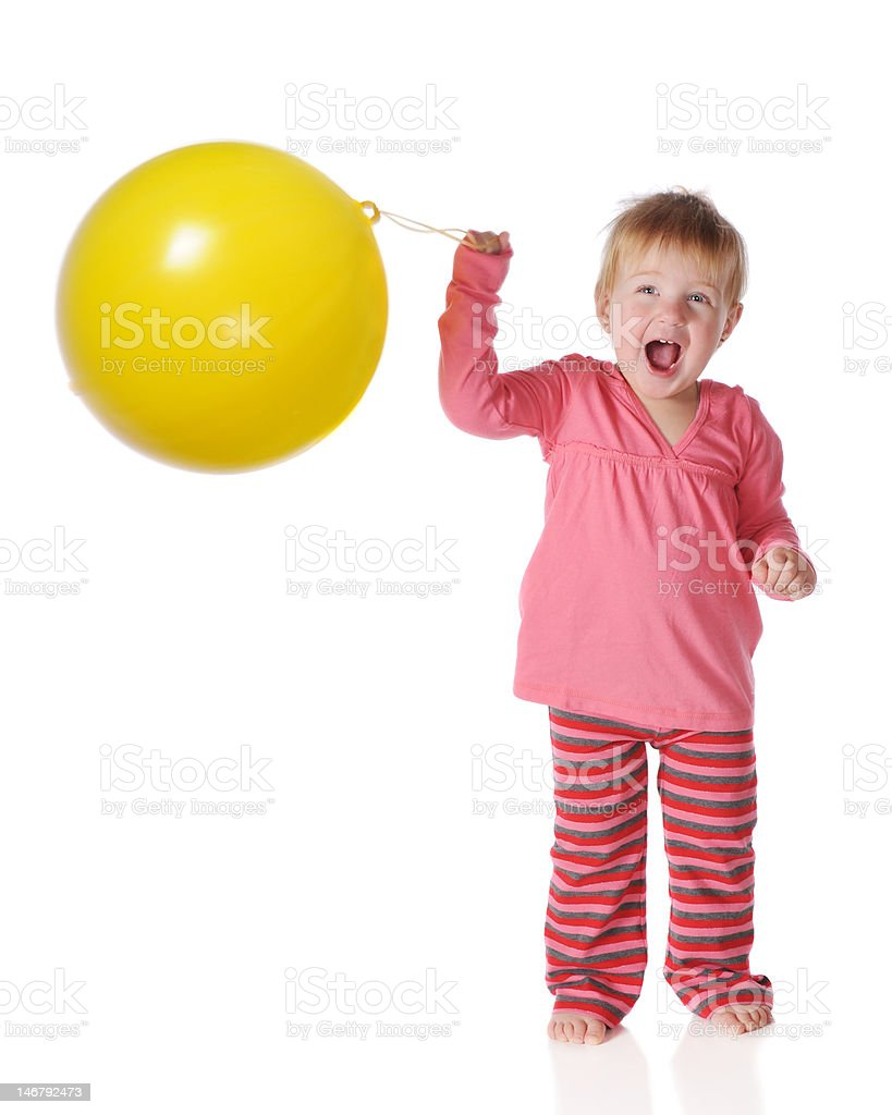 Punch Ball Delight royalty-free stock photo