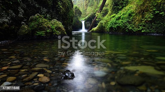 Punchbowl Falls in Spring
