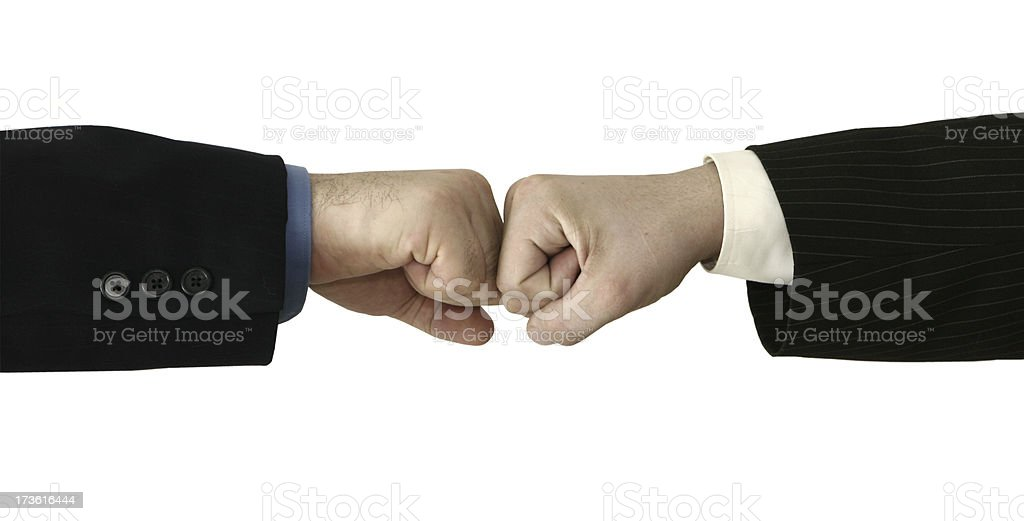 Punch Fists royalty-free stock photo