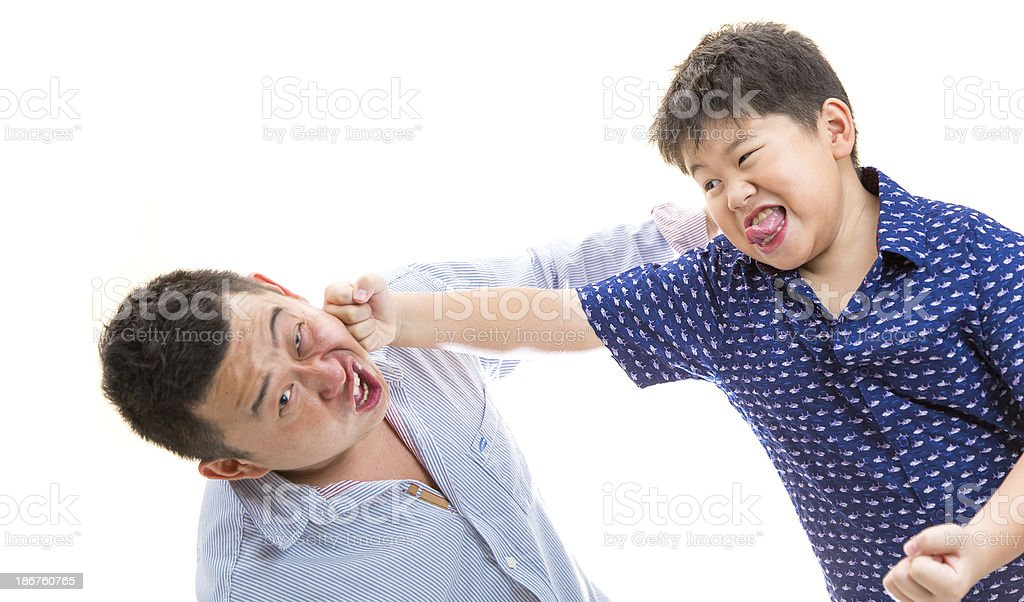 Punch! stock photo