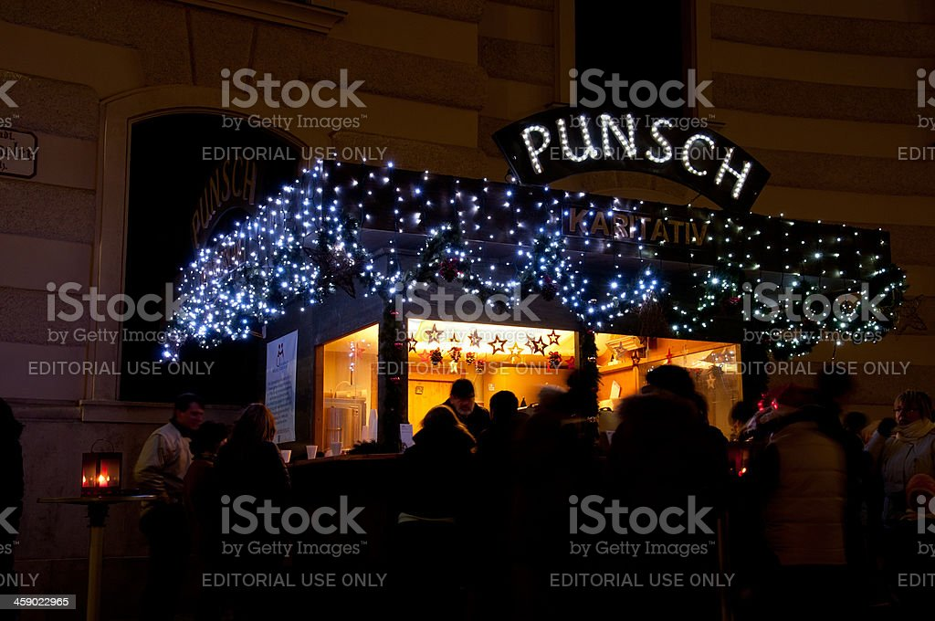 Punsch royalty-free stock photo