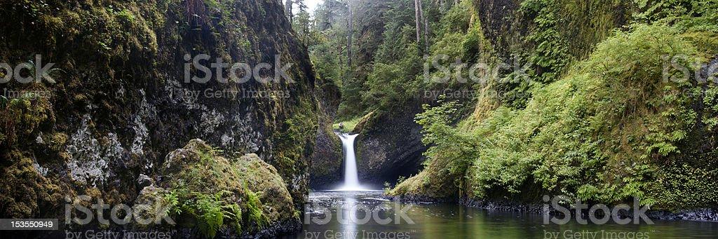 Punchbowl falls, Columbia River Gorge royalty-free stock photo