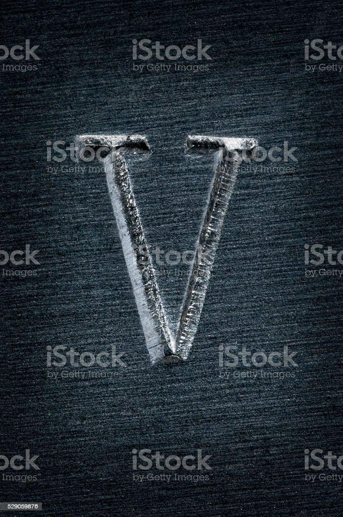 Perforado pattern_v - foto de stock