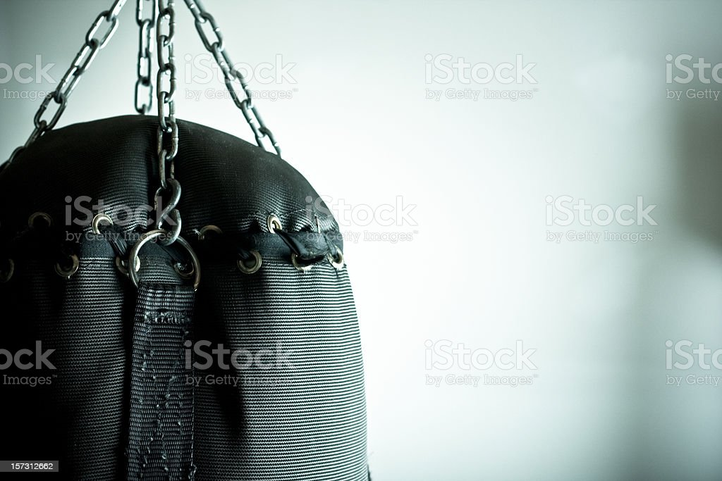 Punching bag royalty-free stock photo