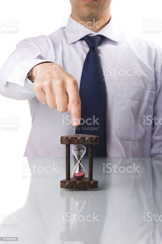punctuality demand royalty-free stock photo