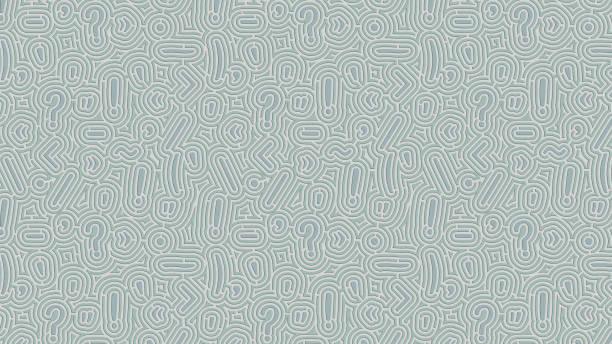 satzzeichen labyrinth hintergrund - komma stock-fotos und bilder