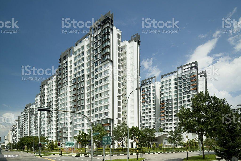 Punggol New Town royalty-free stock photo