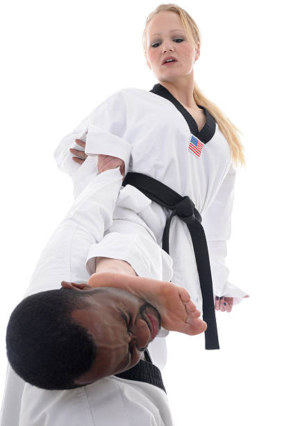 punishment - karate stock photos and pictures