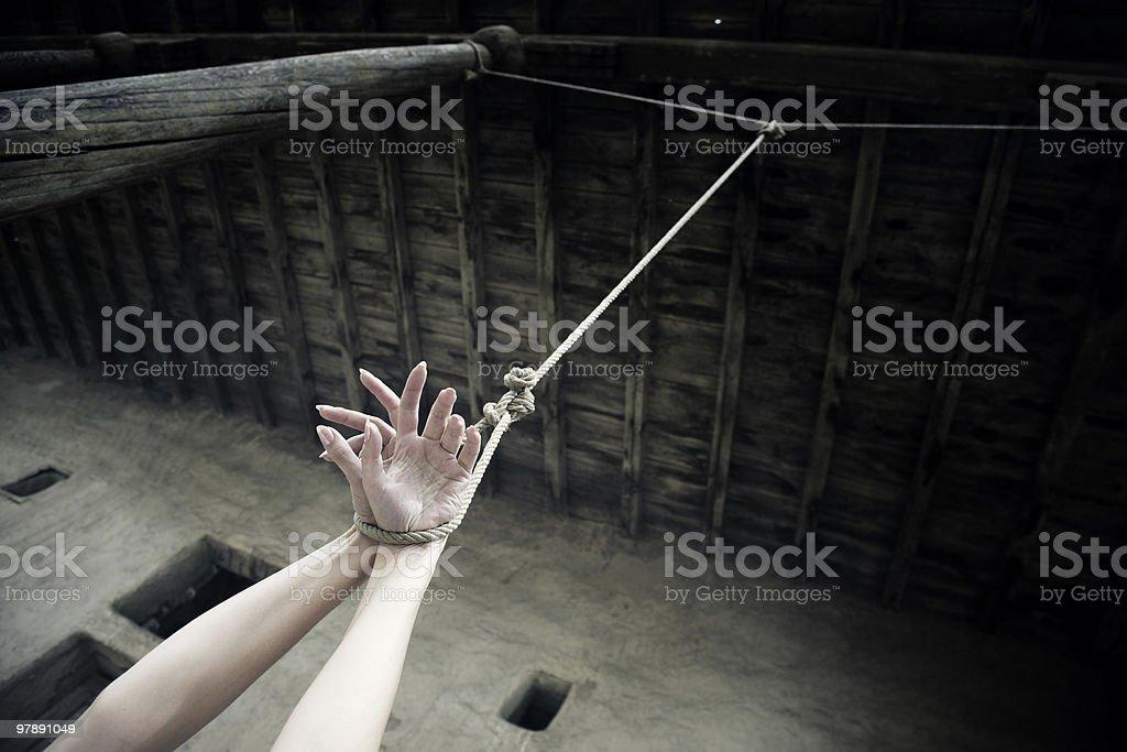 Punishment royalty-free stock photo