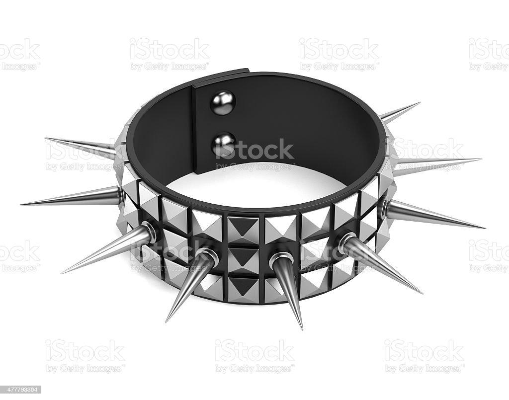 punk bracelet stock photo