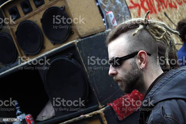 Punk In Sunglasses Notting Hill Carnival Stock Photo - Download Image Now