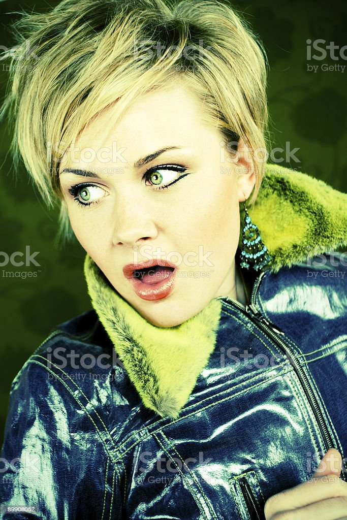Punk royalty-free stock photo