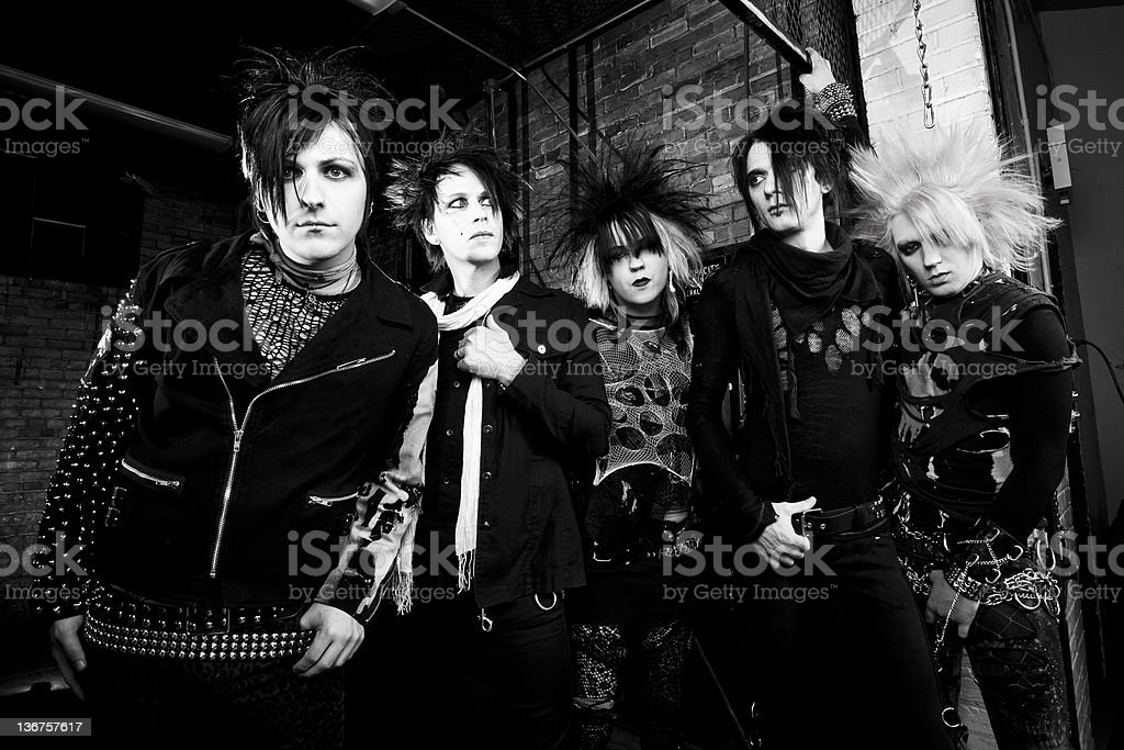 Punk Rock Band Stock Photo - Download Image Now - iStock