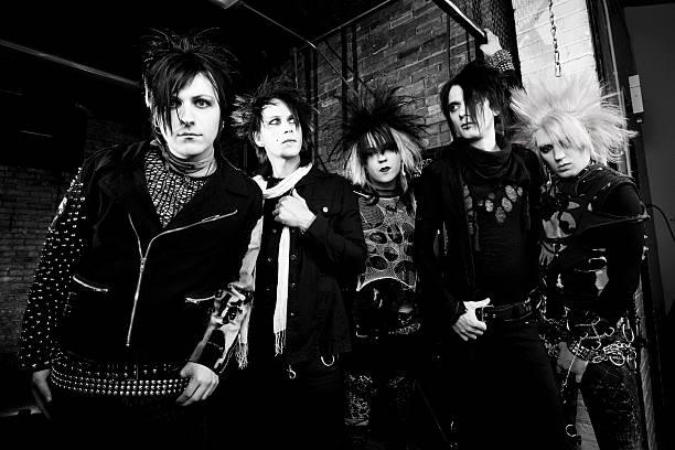 Punk Rock Band stock photo