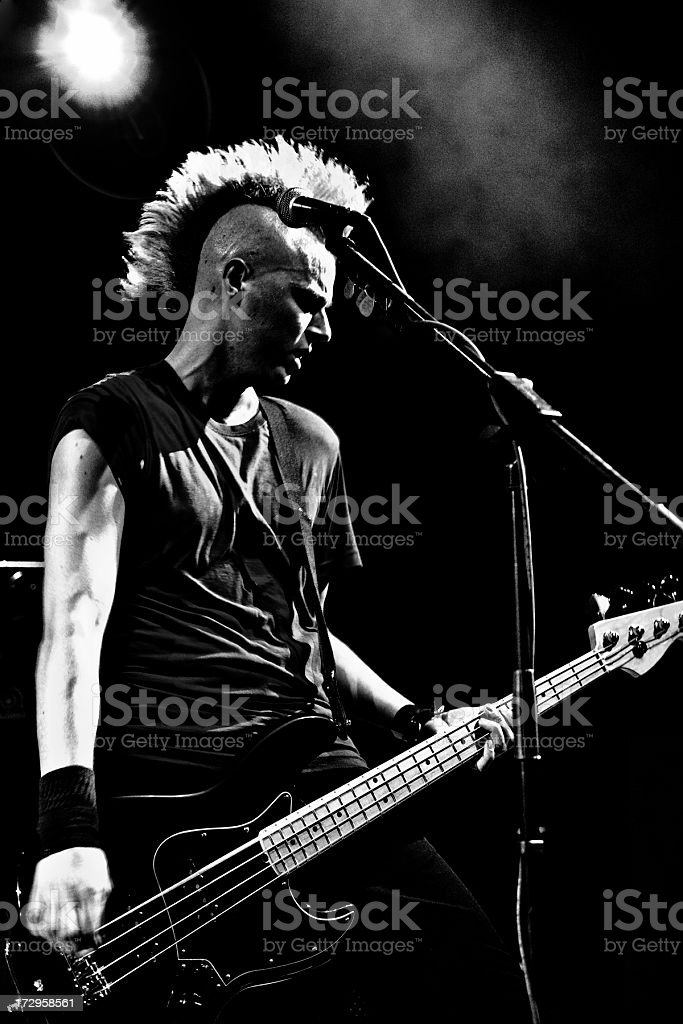 PunkRock Star stock photo