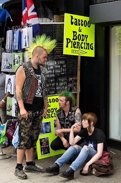Punk's a Camden, Londra - foto stock