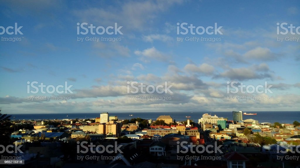 Punta Arenas, Chile. royalty-free stock photo
