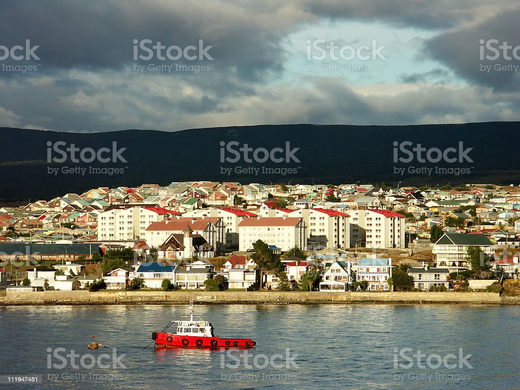 Punta Arenas stock photo