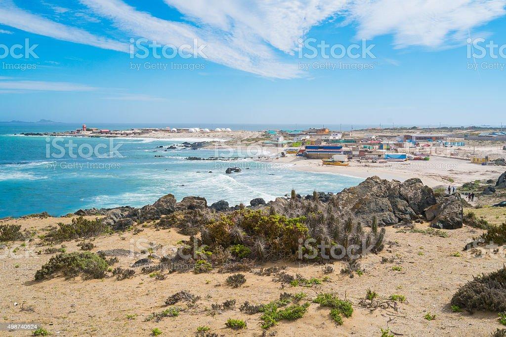 Punta Choros stock photo
