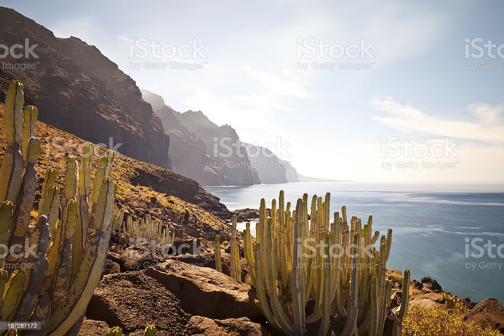 Punta de Teno, Tenerife, Spain stock photo