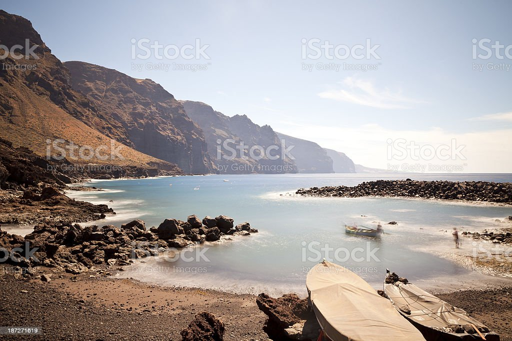 Punta de Teno, Tenerife, Spain royalty-free stock photo