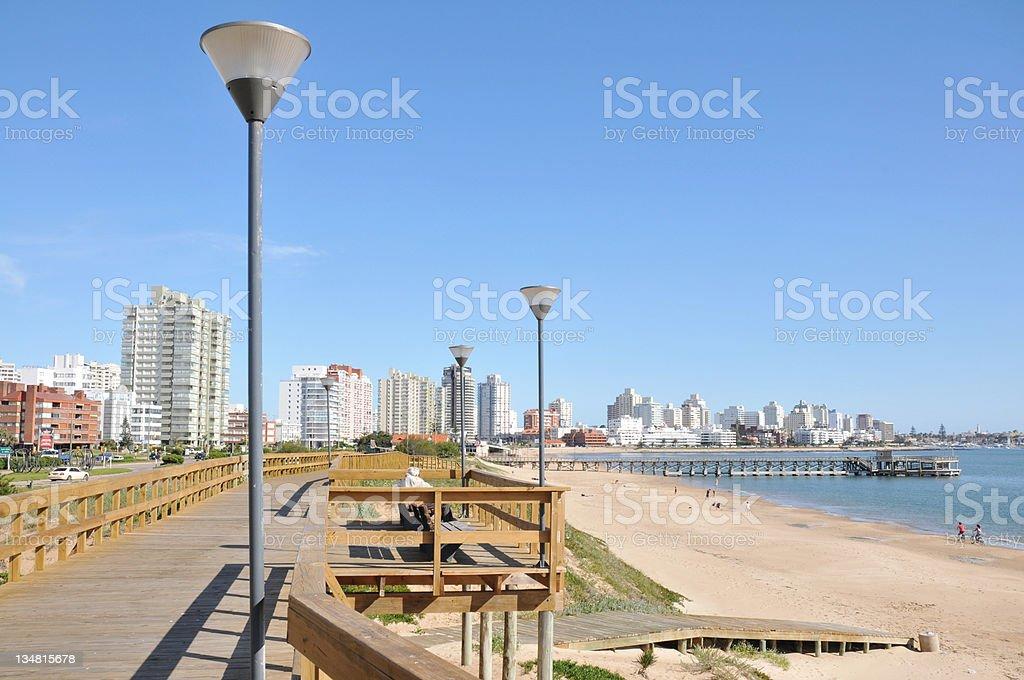 Punta del Este stock photo