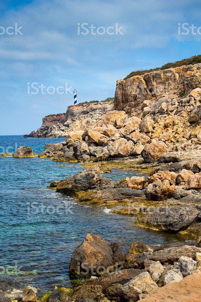 Punta des Moscarter stock photo
