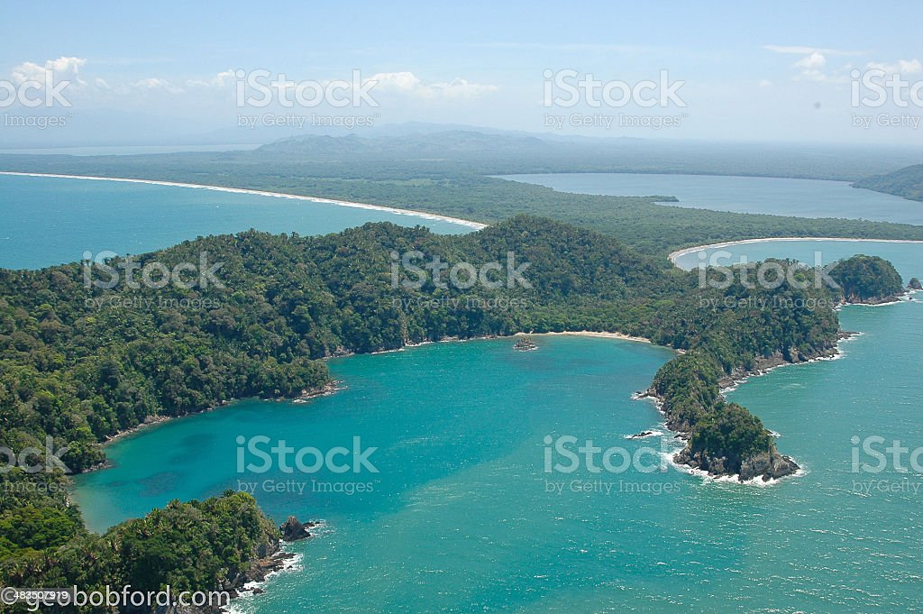 Punta Sal Reserve And Tela Bay Honduras stock photo