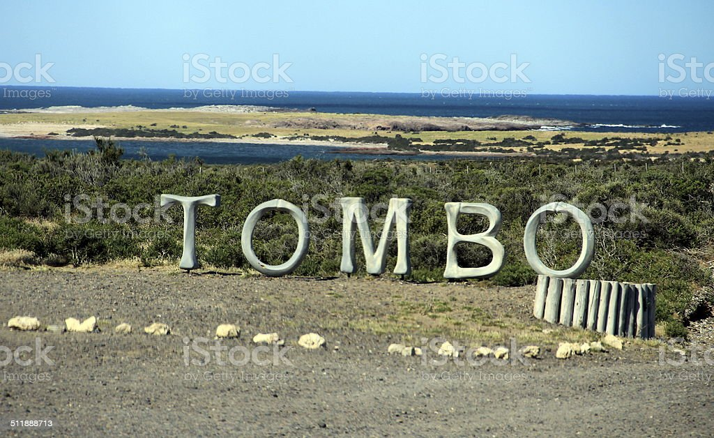 Punta Tombo stock photo