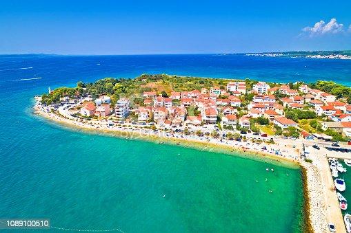 istock Puntamika peninsula in Zadar waterfront aerial summer view, Dalmatia region of Croatia 1089100510