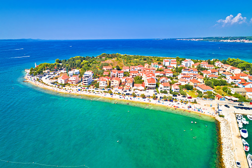 istock Puntamika peninsula in Zadar waterfront aerial summer view, Dalmatia region of Croatia 1089100510