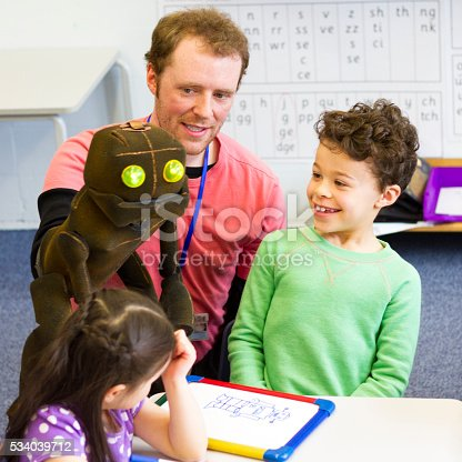 istock Puppet Brings the Lesson to Life 534039712