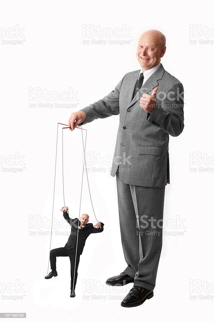 puppet on a string stock photo