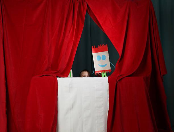 puppentheater - kasperltheater stock-fotos und bilder